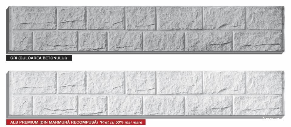 Placa de gard din beton7556
