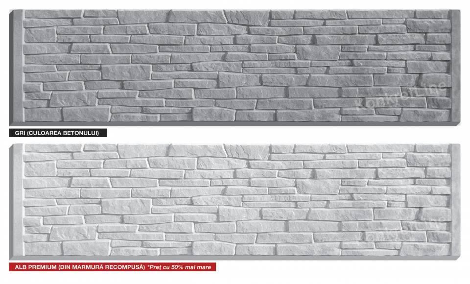 Placa de gard din beton7574