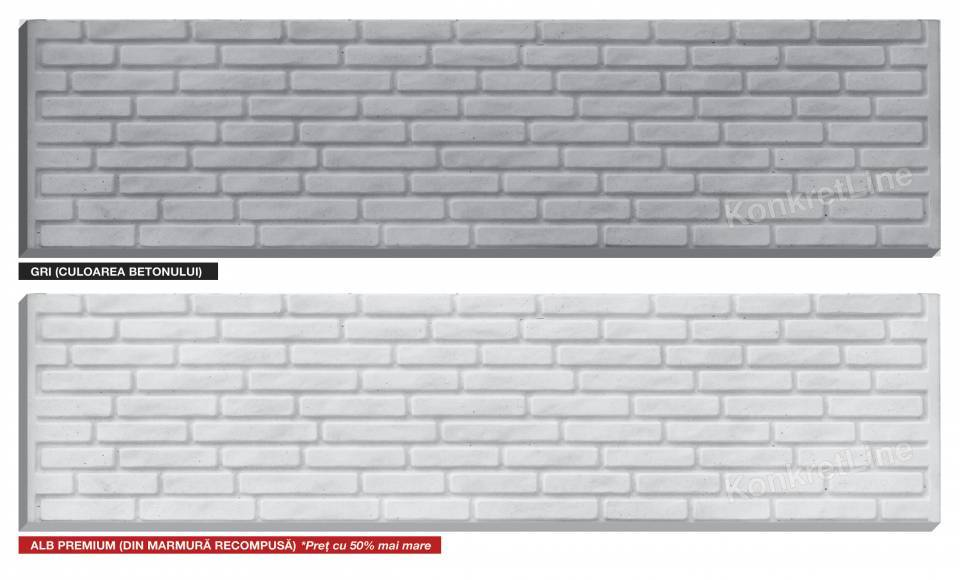 Placa de gard din beton7580