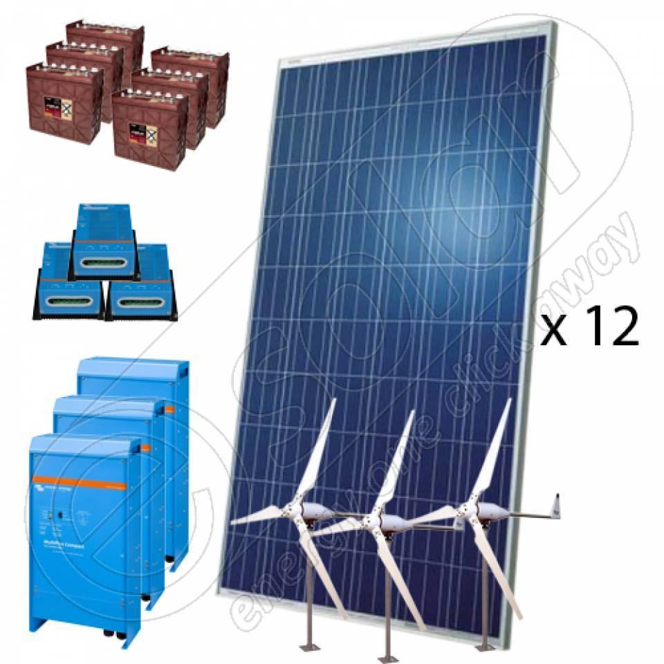 Kituri eoliene si solare PV hibride8240