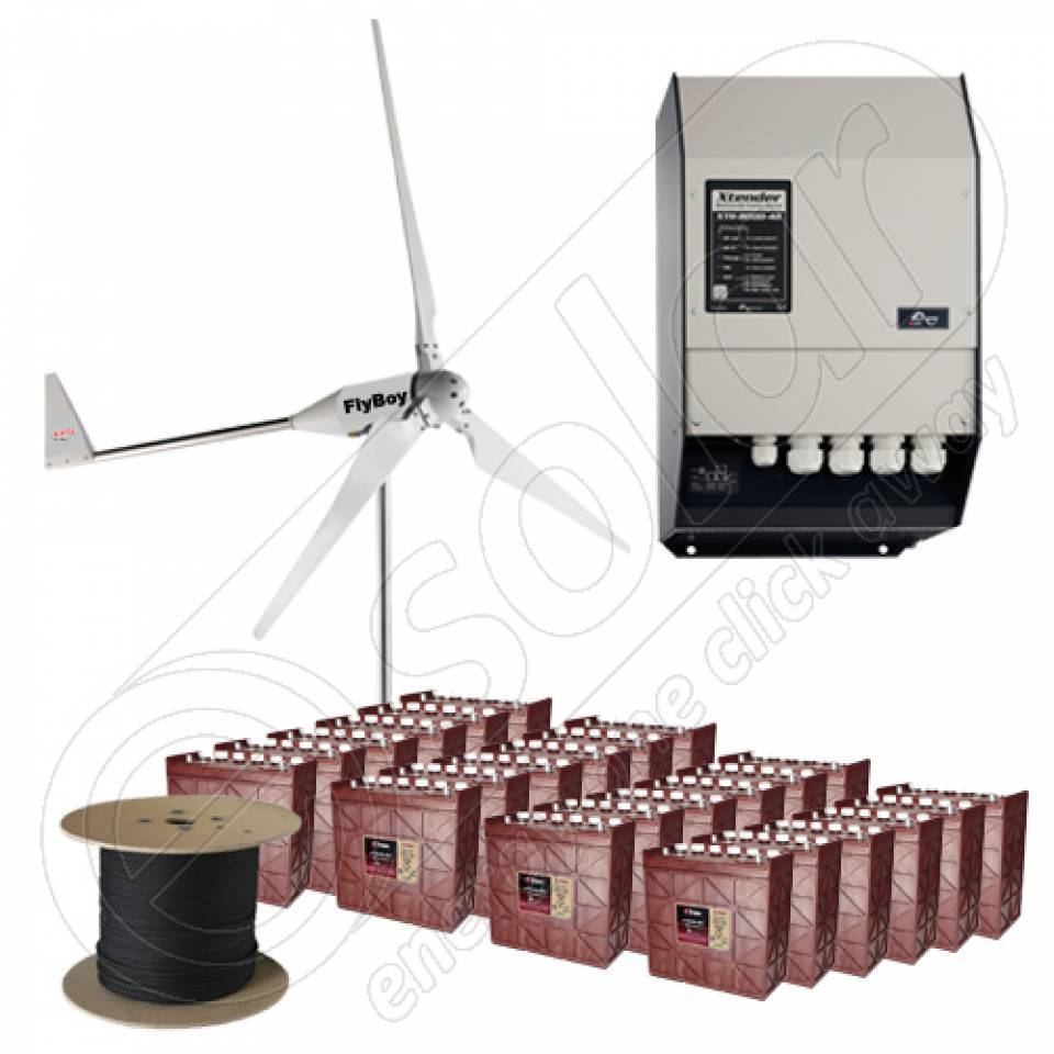 Kituri cu turbine eoliene mici cu montaj inclus la cheie8339