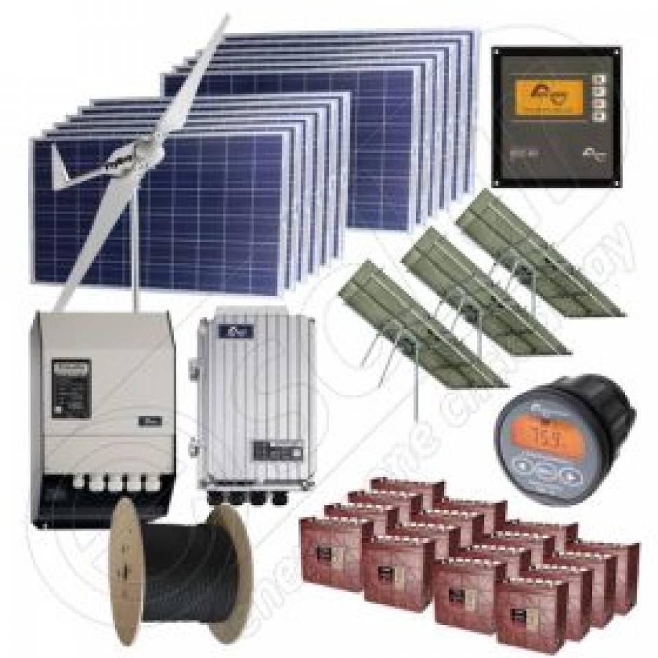 Kit-uri fotovoltaice Off-Grid monofazate Premium8344