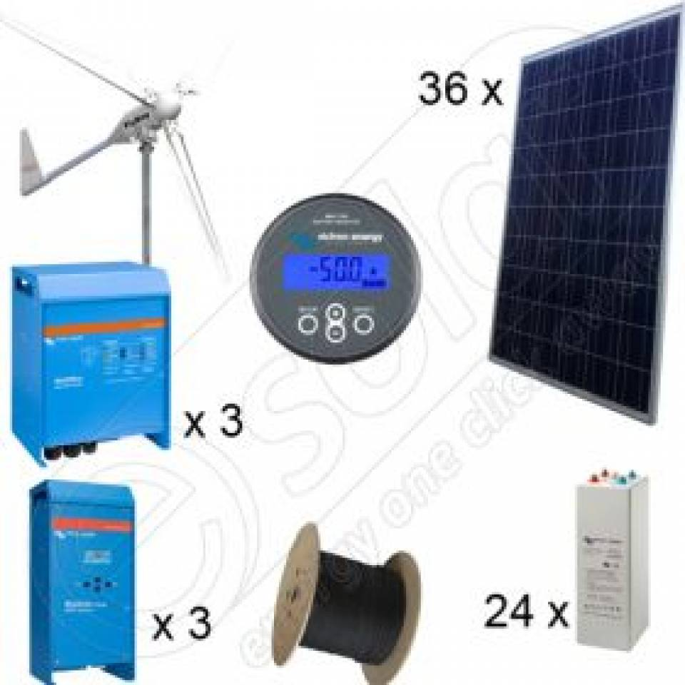 Kituri solare si eoliene hibrid cu montaj inclus8345