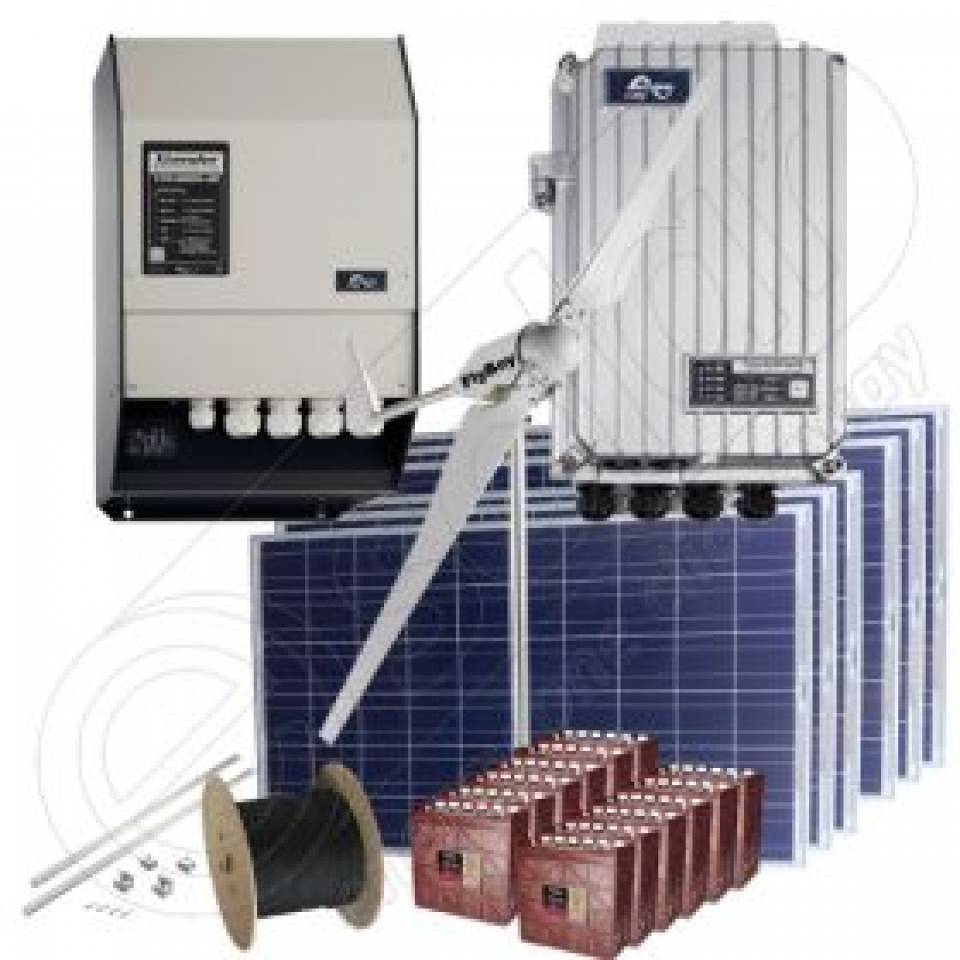 Sisteme fotovoltaice off-grid la cheie-cu montaj inclus8349
