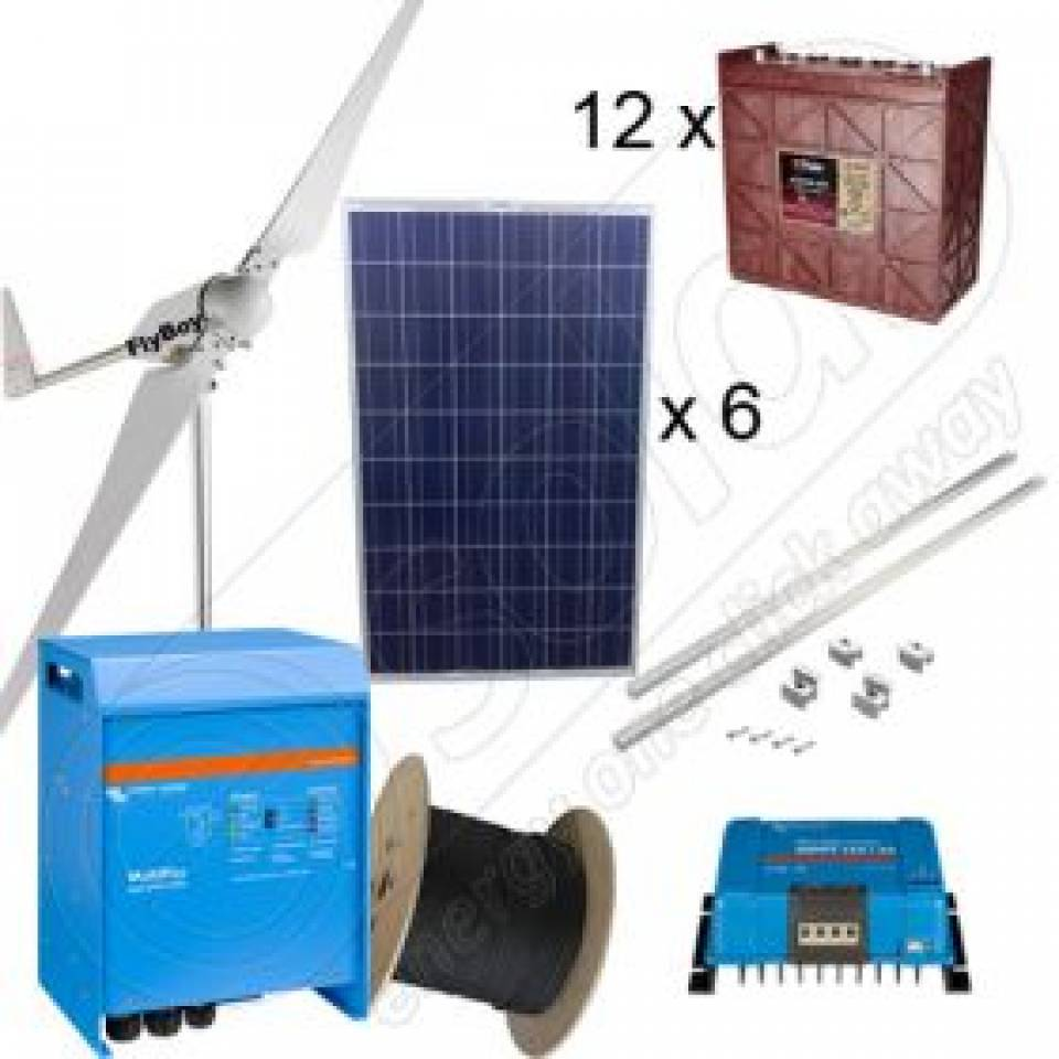 Sisteme fotovoltaice off-grid la cheie-cu montaj inclus8350