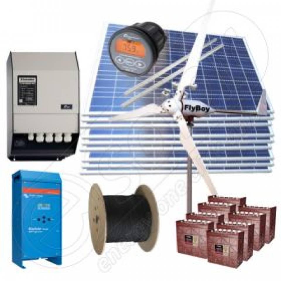 Sisteme fotovoltaice off-grid la cheie-cu montaj inclus8351