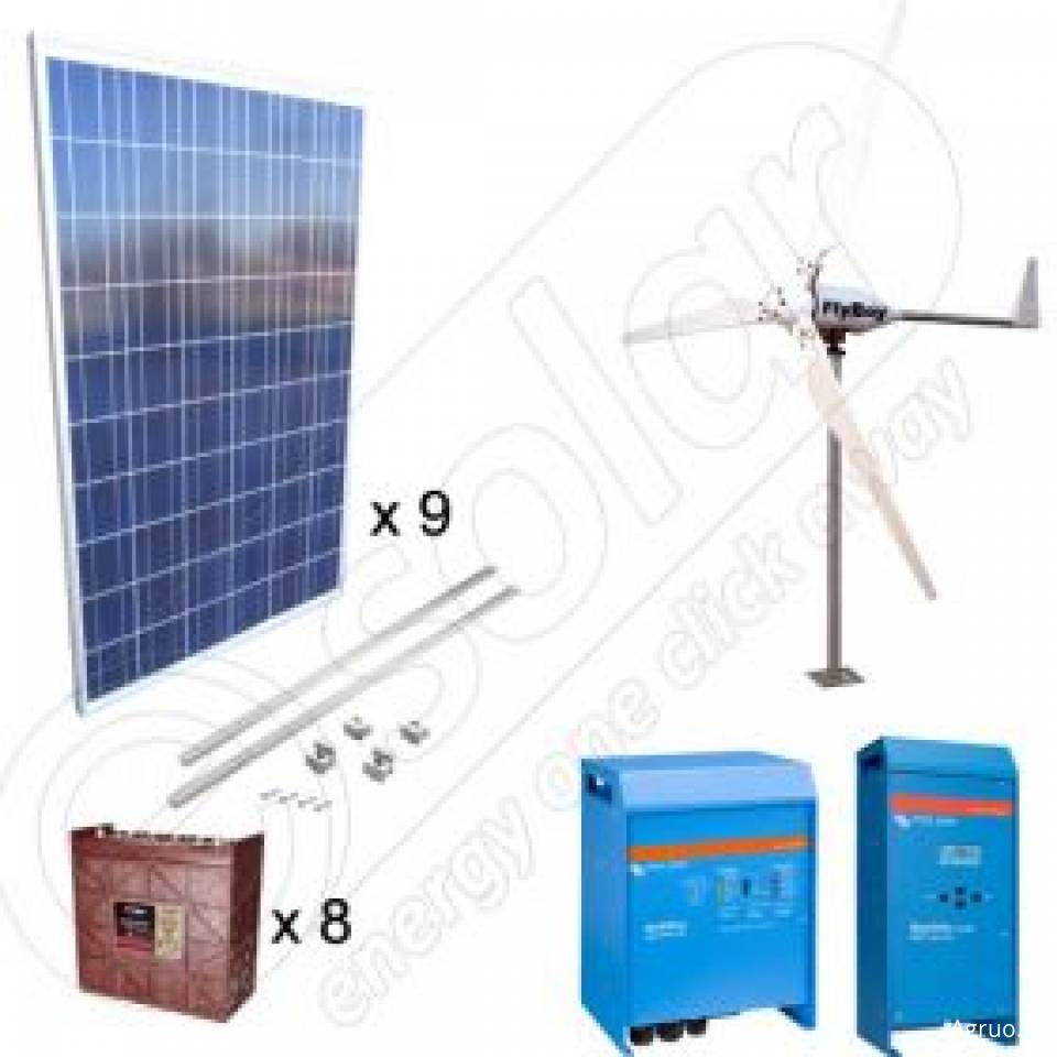 Sisteme hibrid fotovoltaice si eoliene pentru irigatii in agricultura8361
