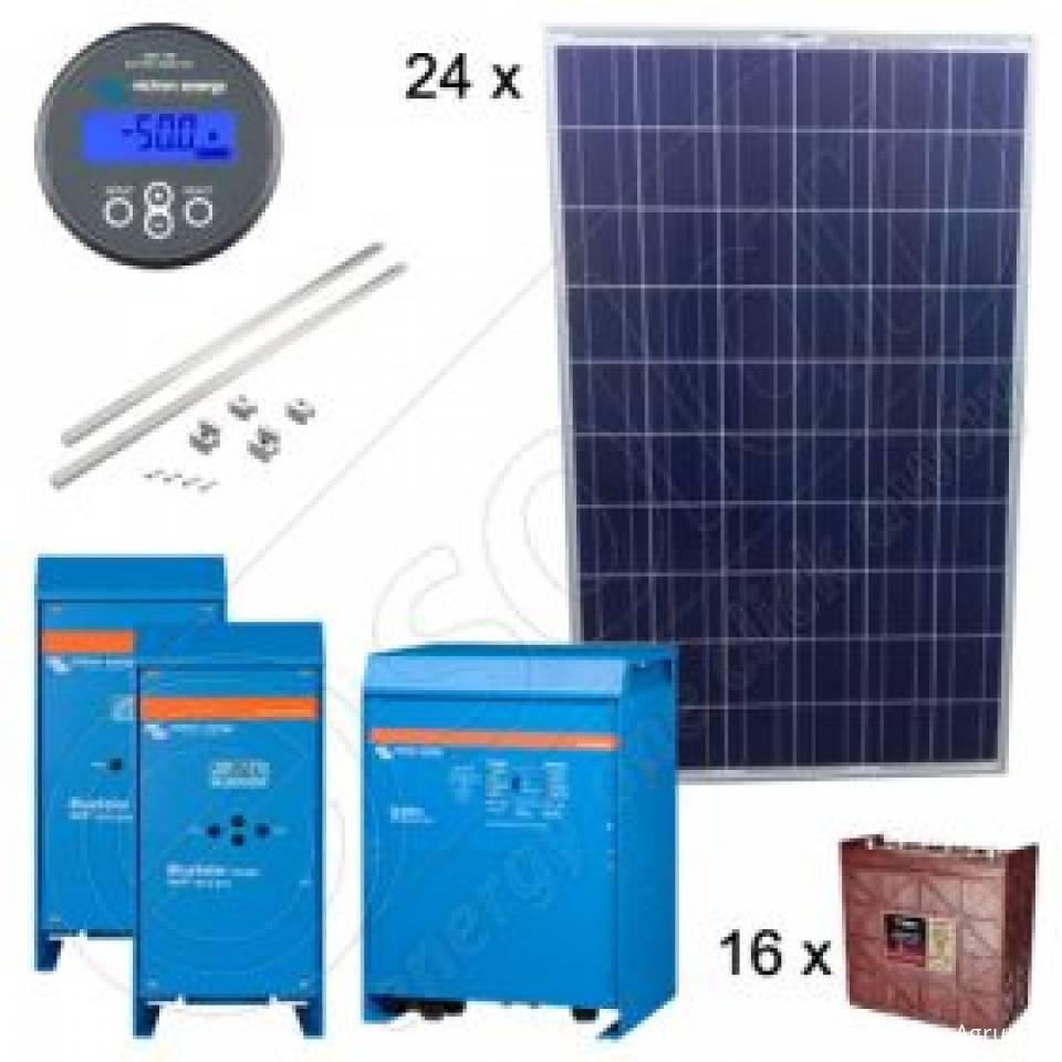 Kit-uri fotovoltaice trifazate Off-Grid Premium8366