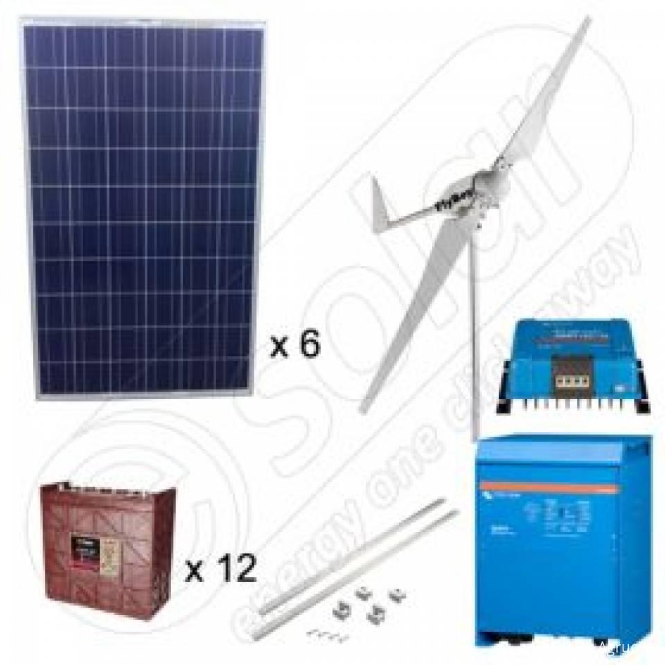 Kituri hibride fotovoltaice si eoliene8368