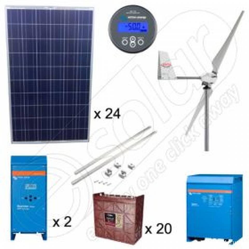 Kituri hibride fotovoltaice si eoliene8370