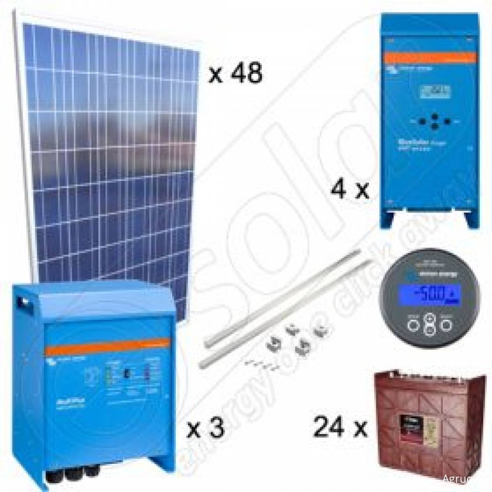 Kit-uri fotovoltaice trifazate Off-Grid Premium8373