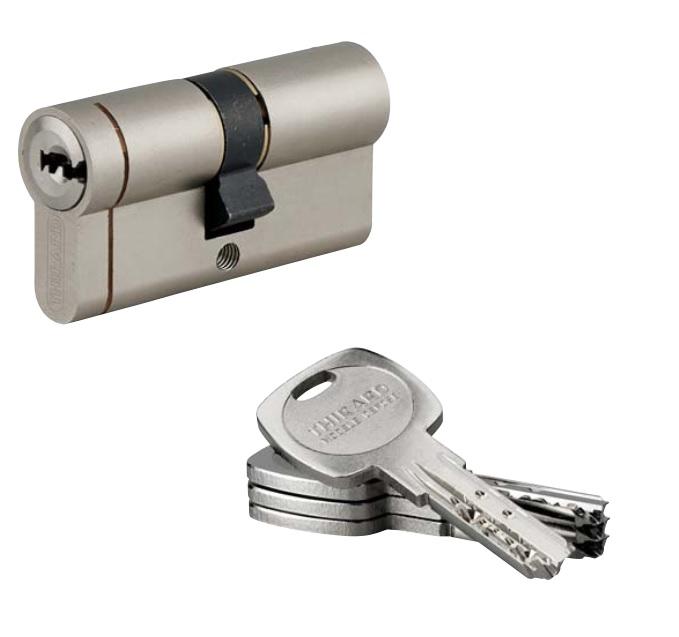 Cilindri cu cheie cu amprenta38403