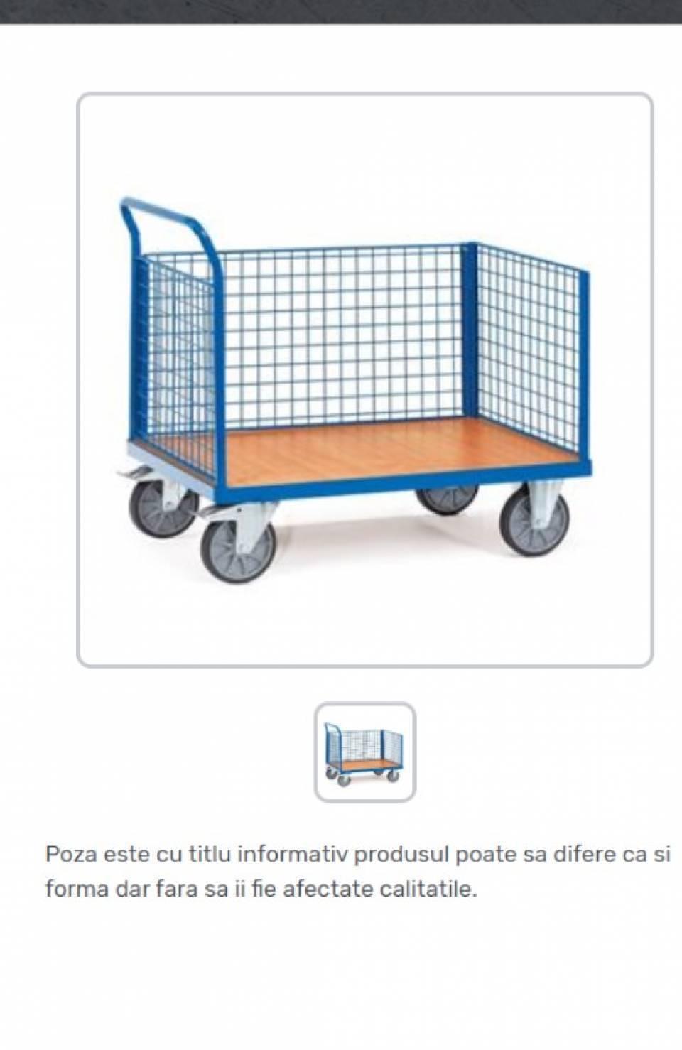 Carucioare tip container cu 3 pereti laterali42155