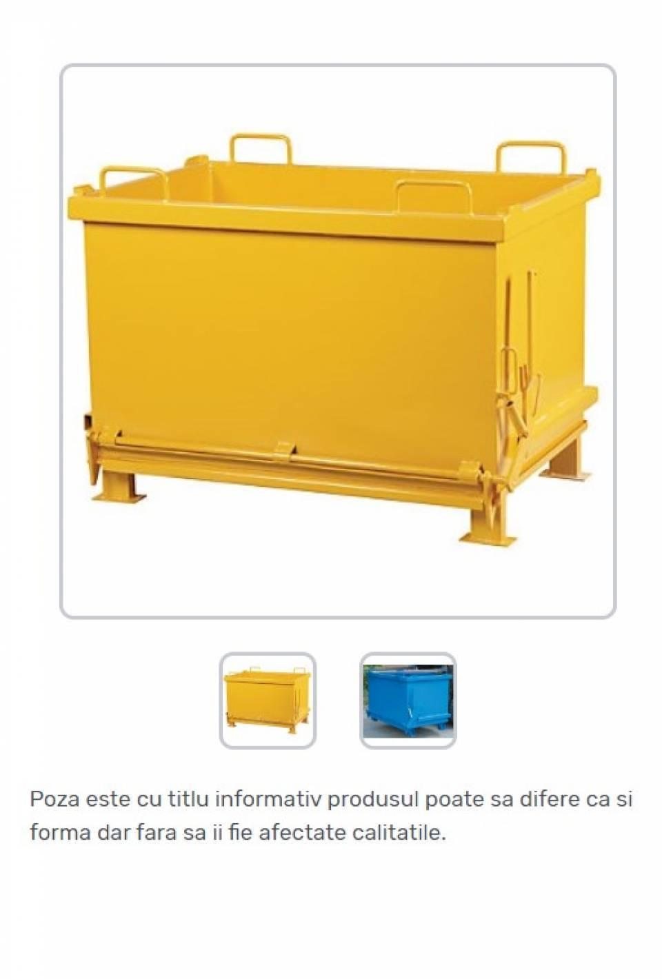 Container cu fund basculant pentru deseuri generale42181