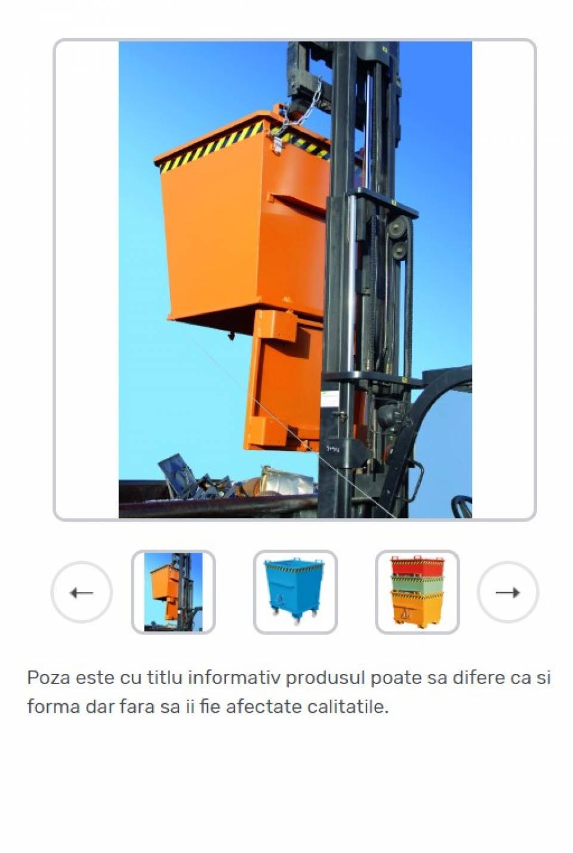 Container cu fund basculant pentru deseuri generale42183