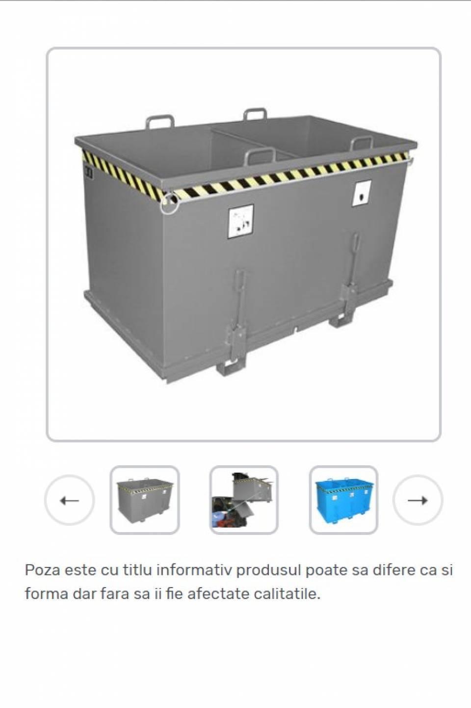 Container cu fund basculant pentru colectare selectiva42185