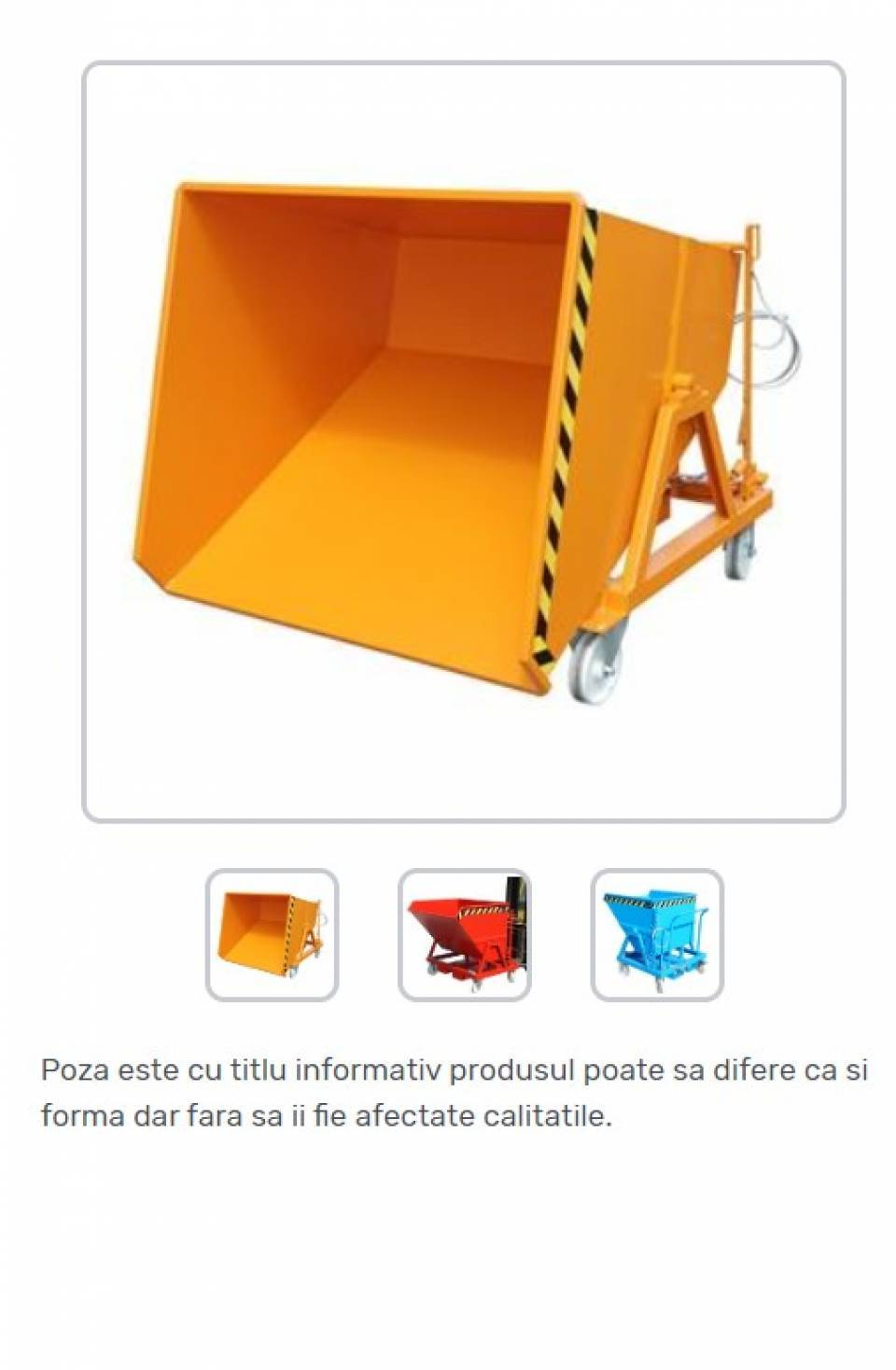 Container basculant cu roti42186