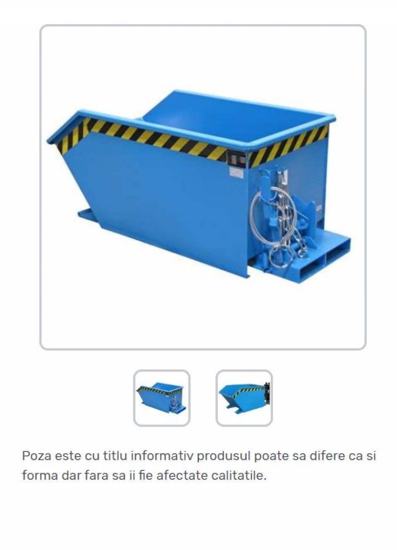 Container basculant pentru span42187