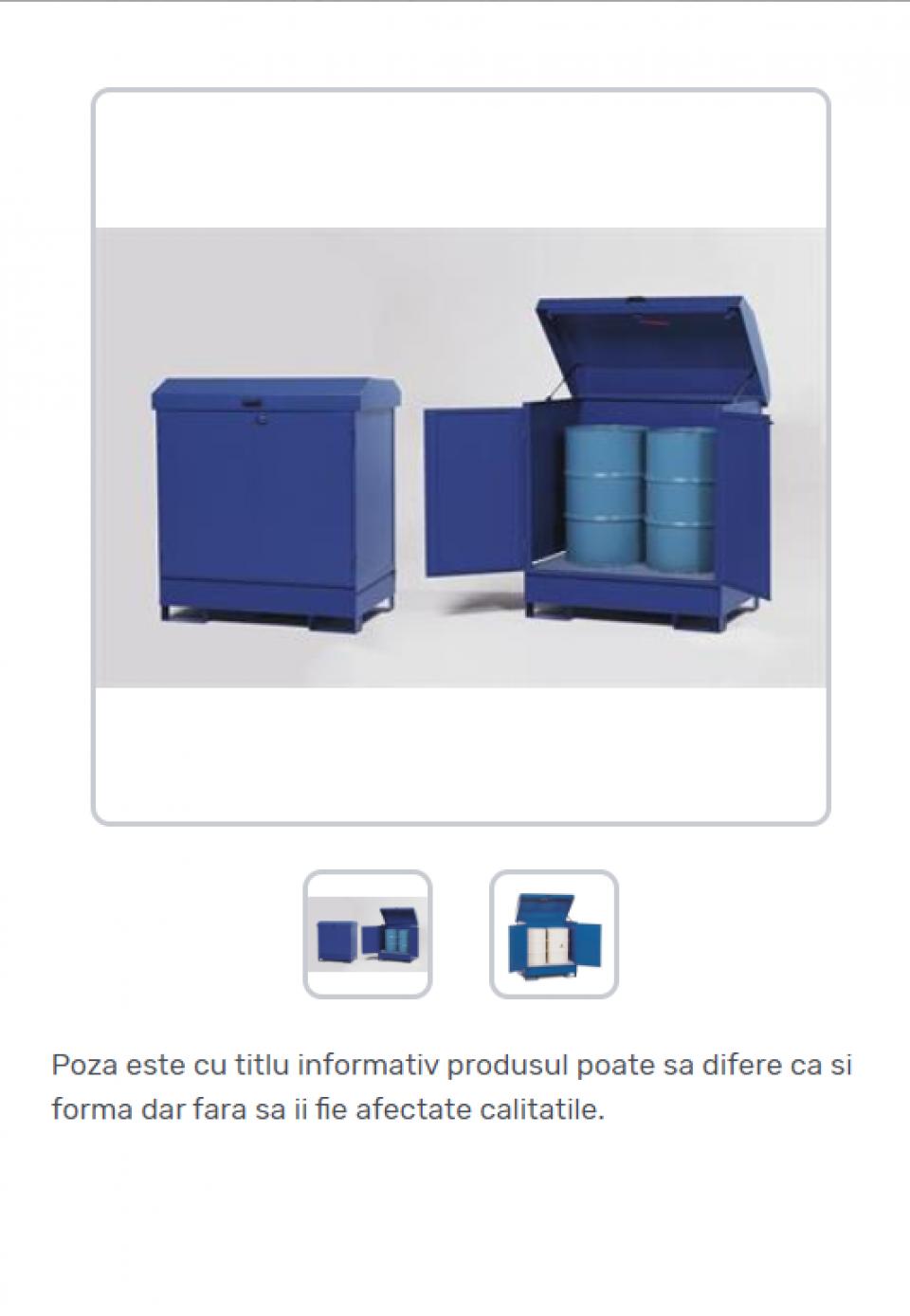 Container securizat pentru depozitare butoaie42220