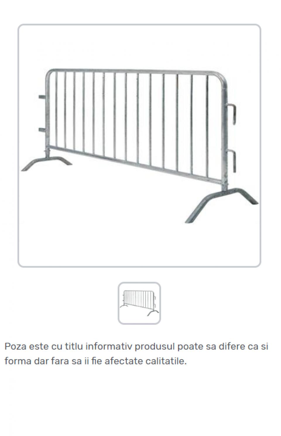 Garduri temporare pentru delimitare trafic tip jandarmerie42229