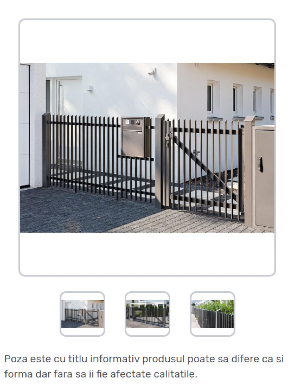 Porti metalice standard42266