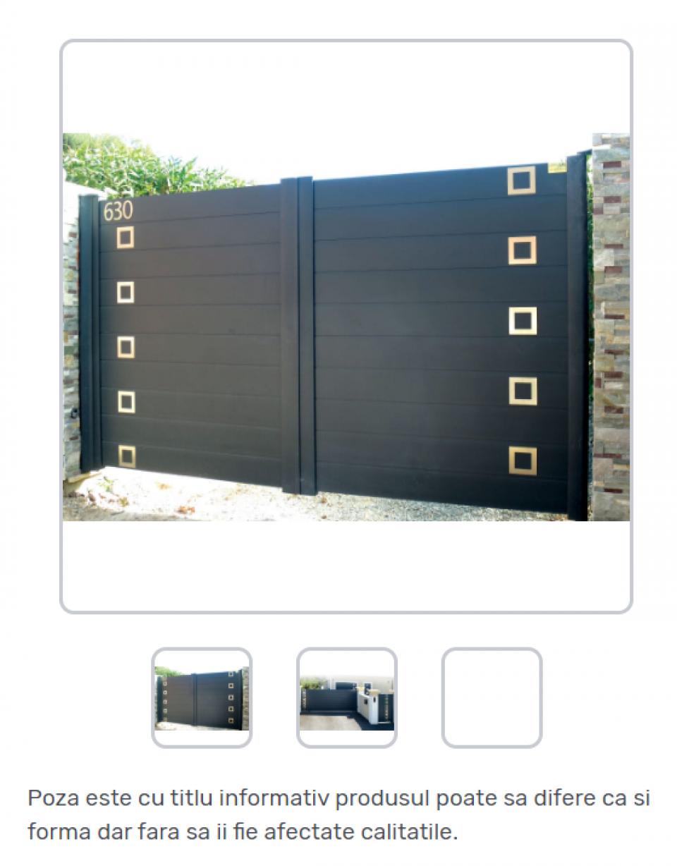 Porti metalice standard42271