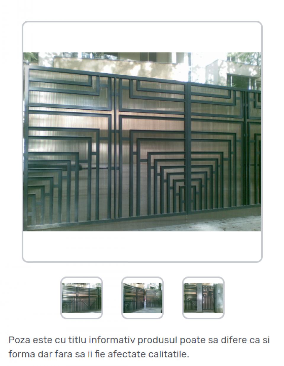 Porti metalice standard42276