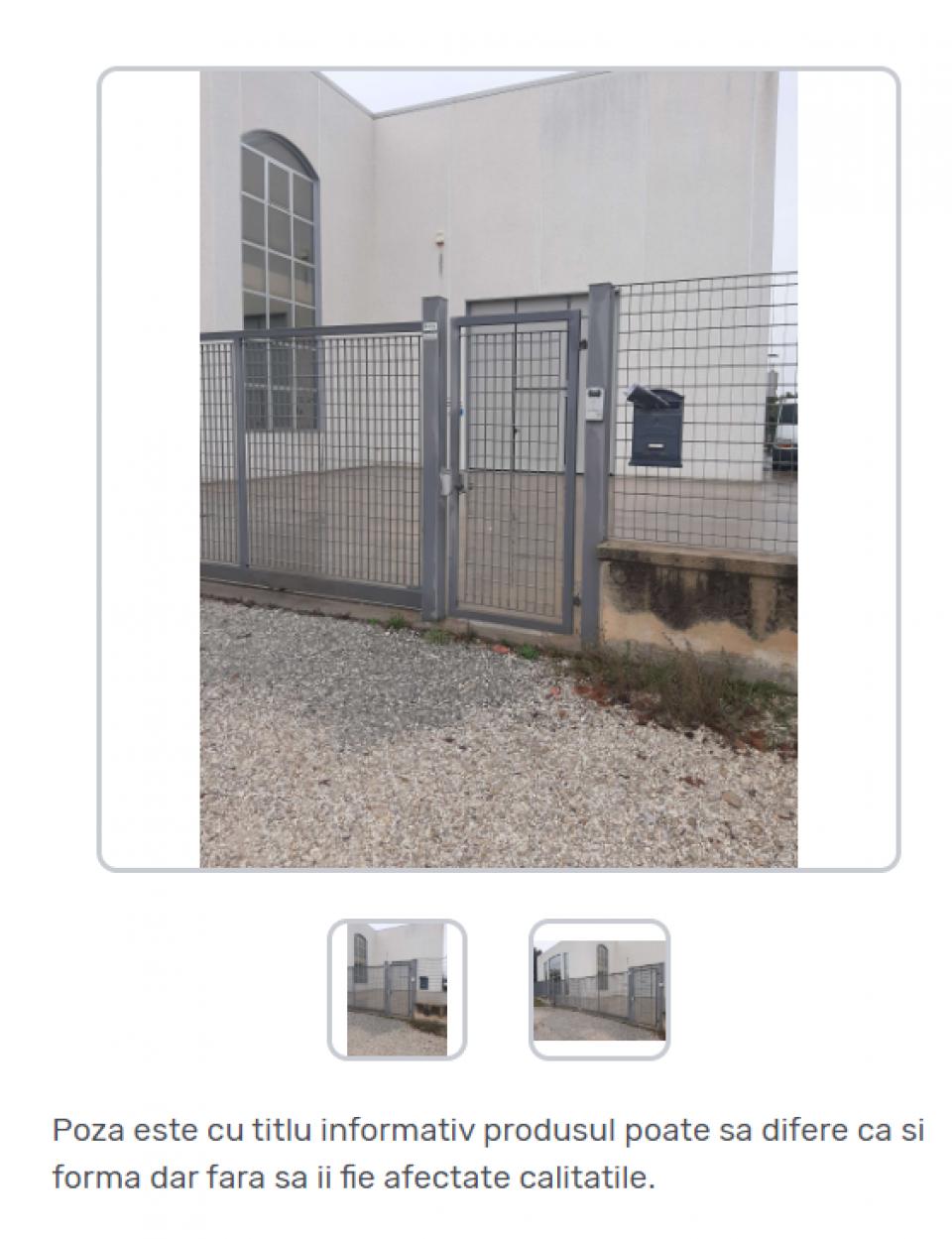Porti industriale batante zincate42278