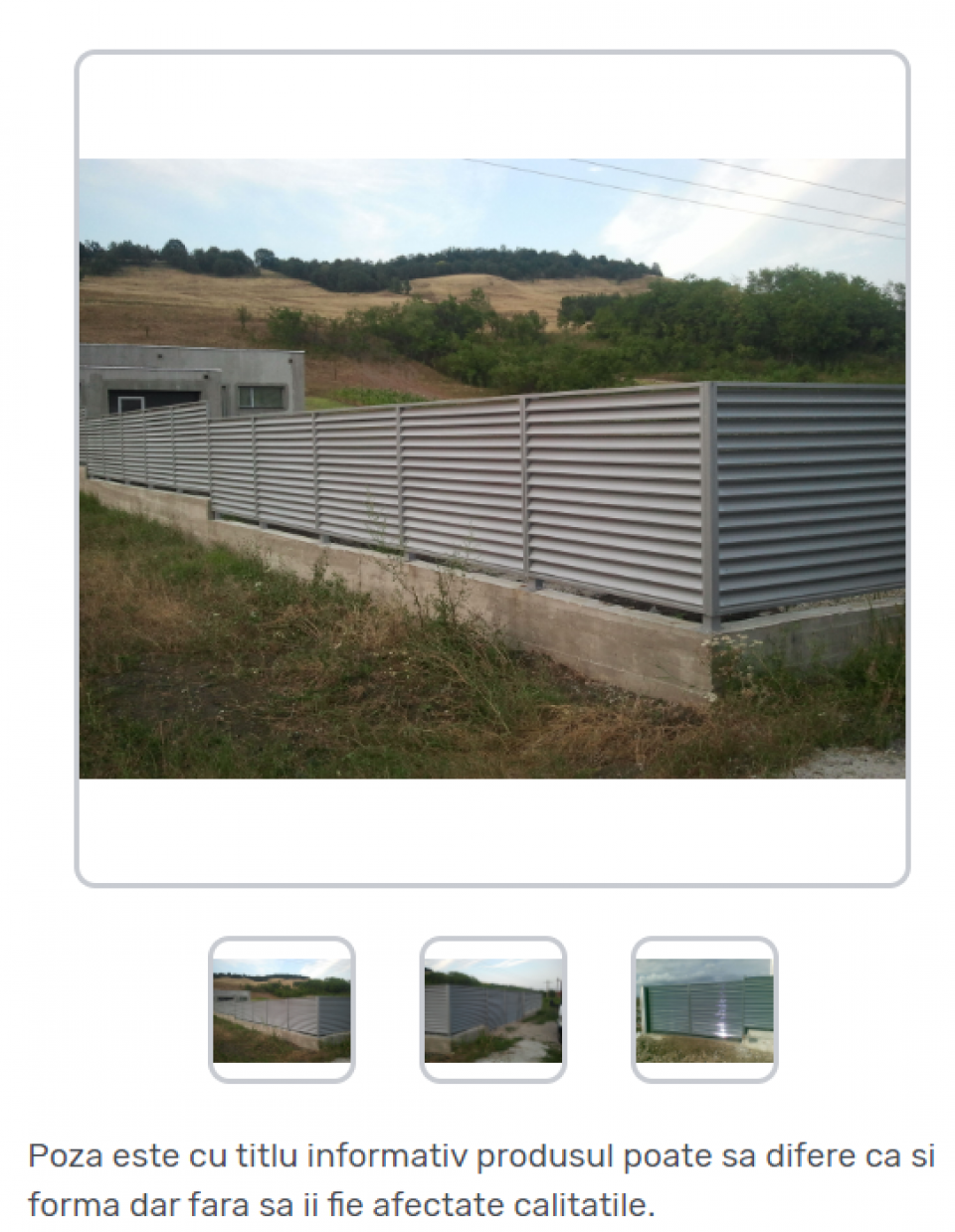 Porti metalice standard42279