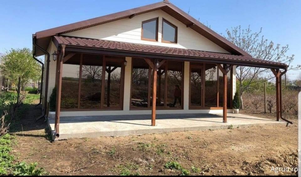 Casa pe structura metalica la cheie42361