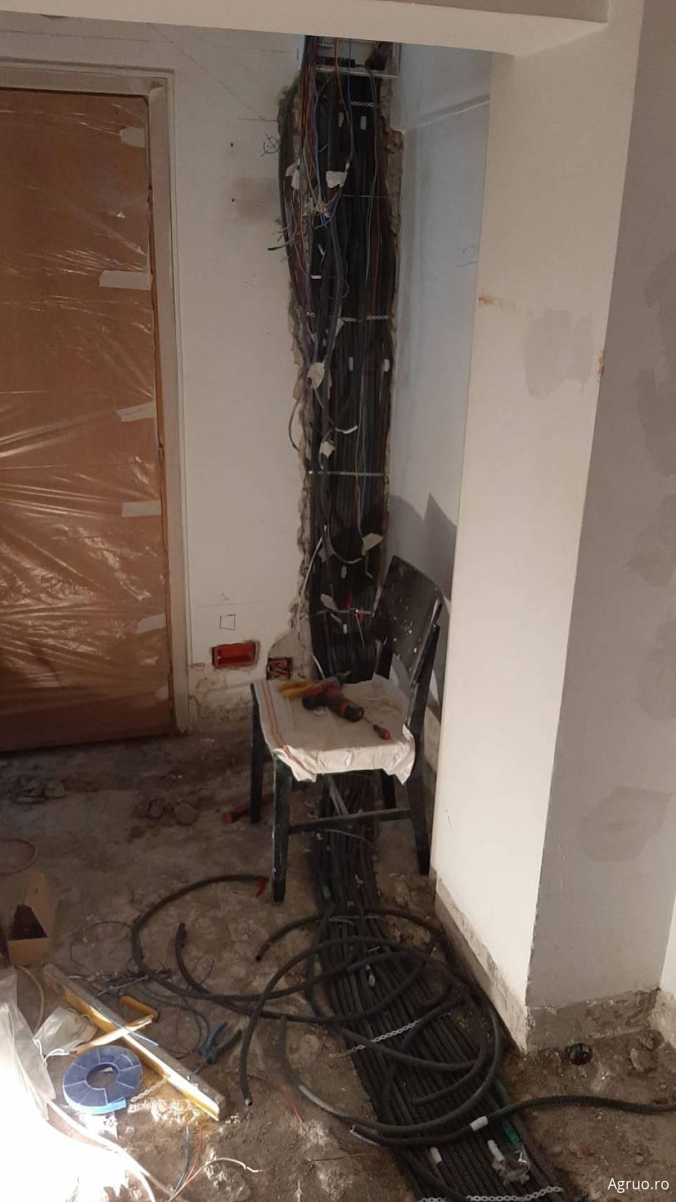 Manopera instalatie electrica pentru un apartament 4 camere1422