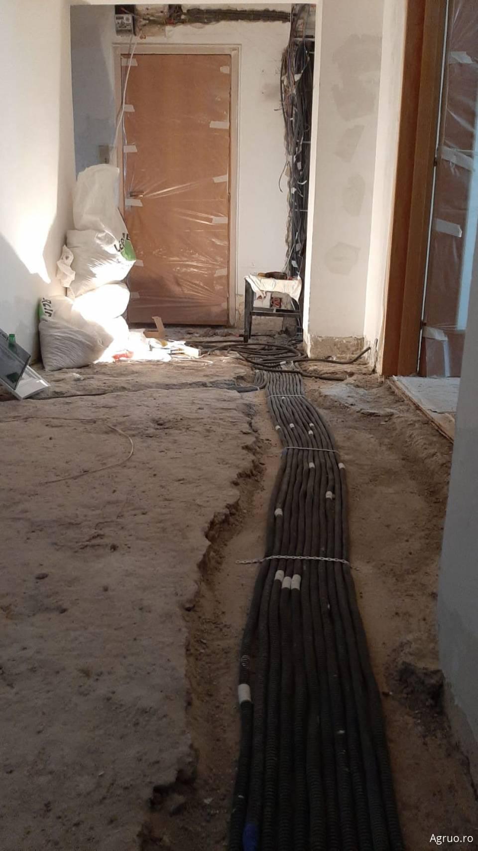Manopera instalatie electrica pentru un apartament 4 camere1424