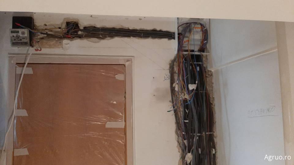 Manopera instalatie electrica pentru un apartament 4 camere1423