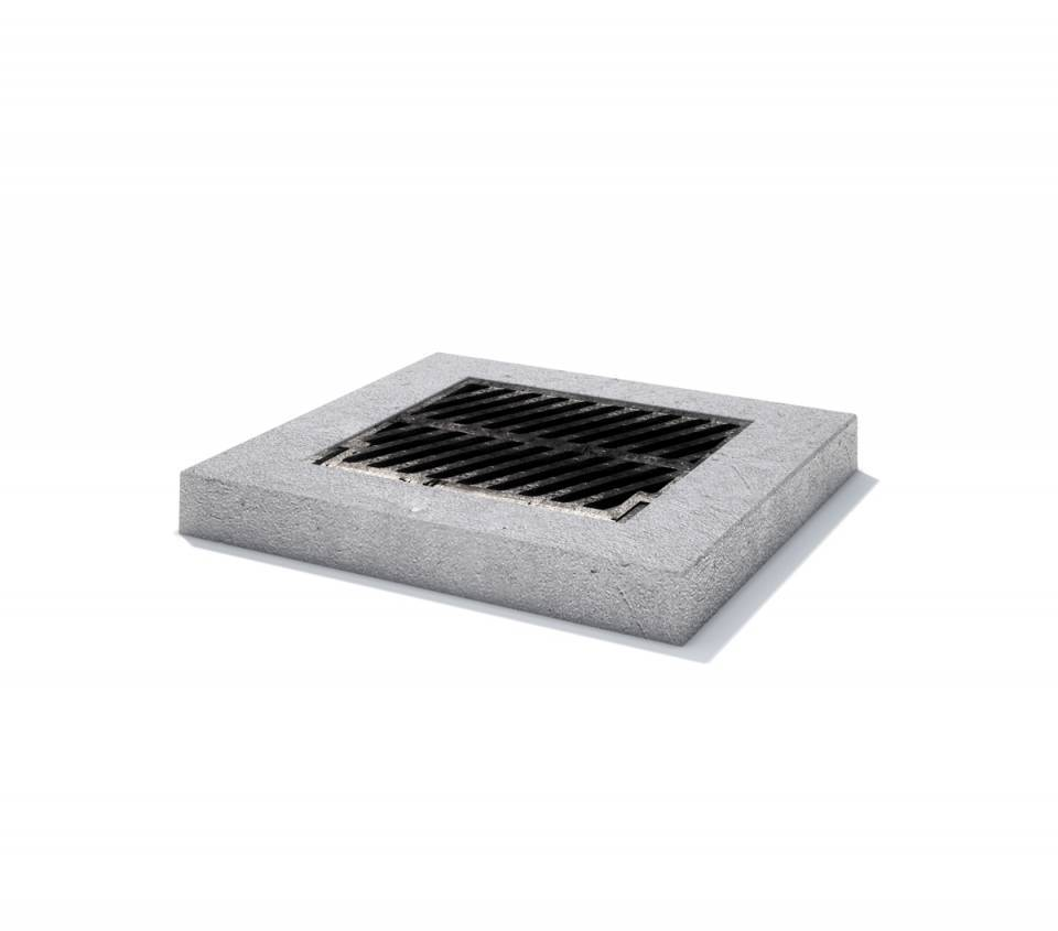 Rama rectangulara fonta + beton armat 100/ 100/ 1549089