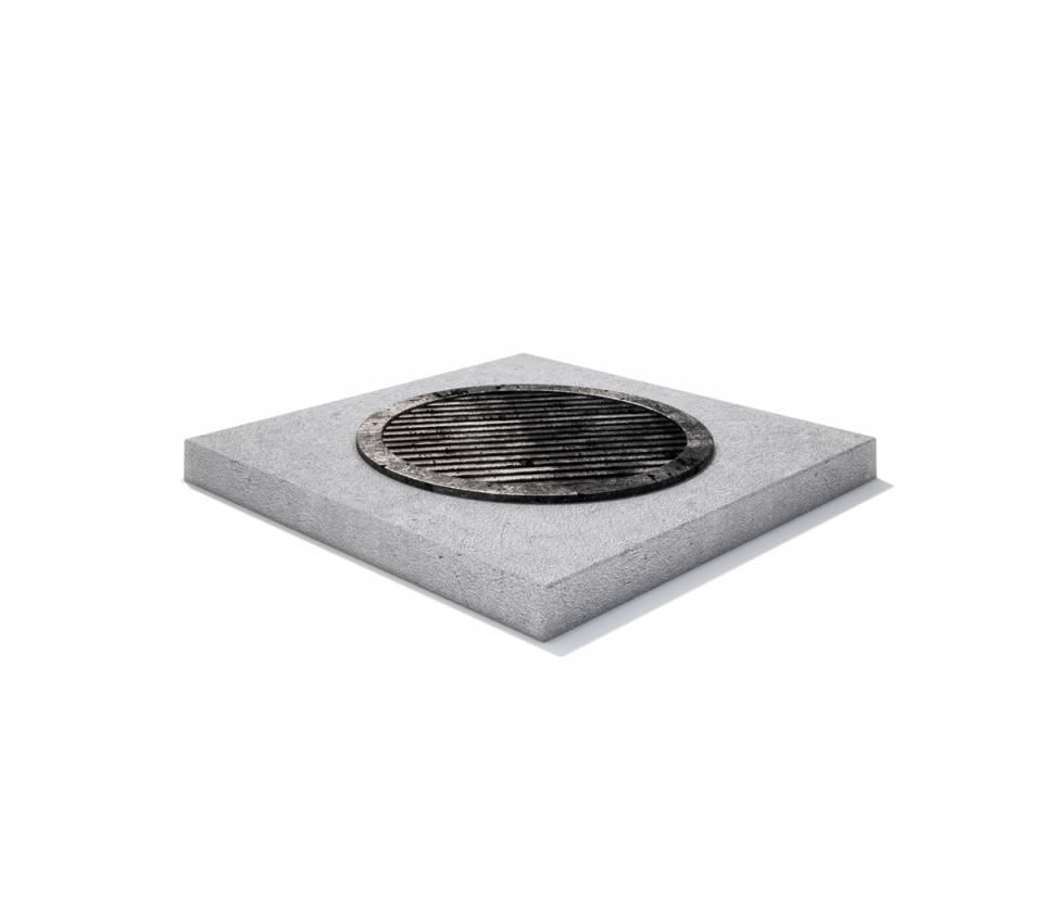 Rama rectangulara fonta + beton armat 100/ 100/ 2049093