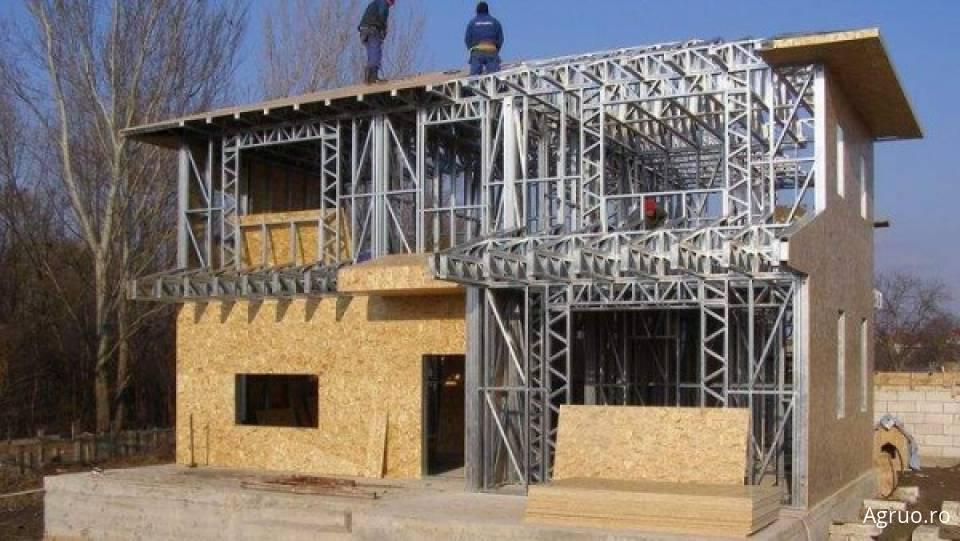 Casa pe structura metalica la cheie49155