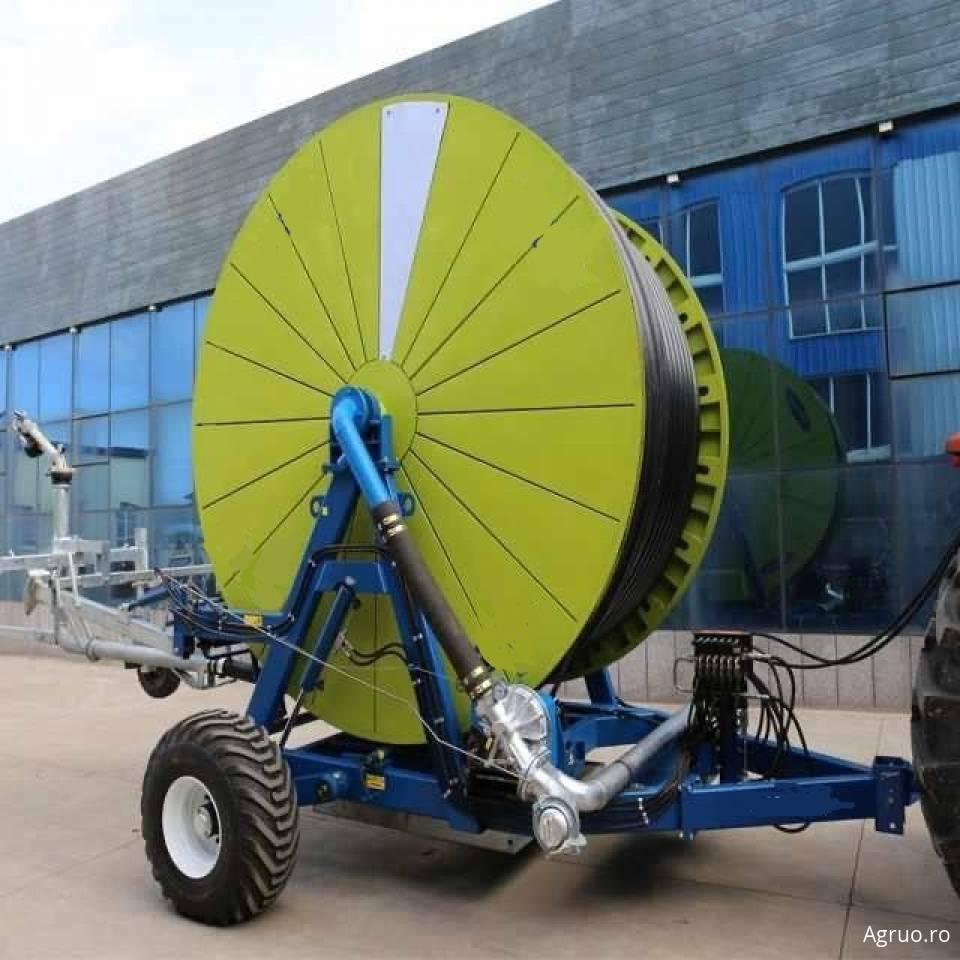 Sistem pentru irigatii cu tambur si turbina50747