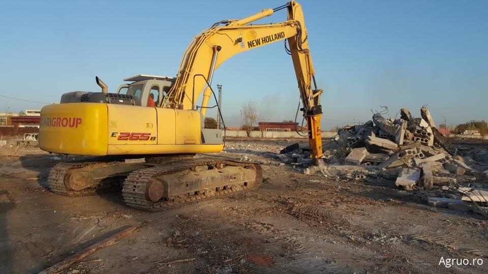 Demolat ziduri, fundatii, placi beton50958