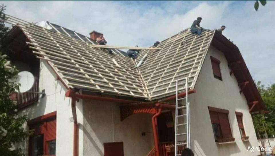 Lucrari de dulgherie acoperis, inclusiv invelitoare51100