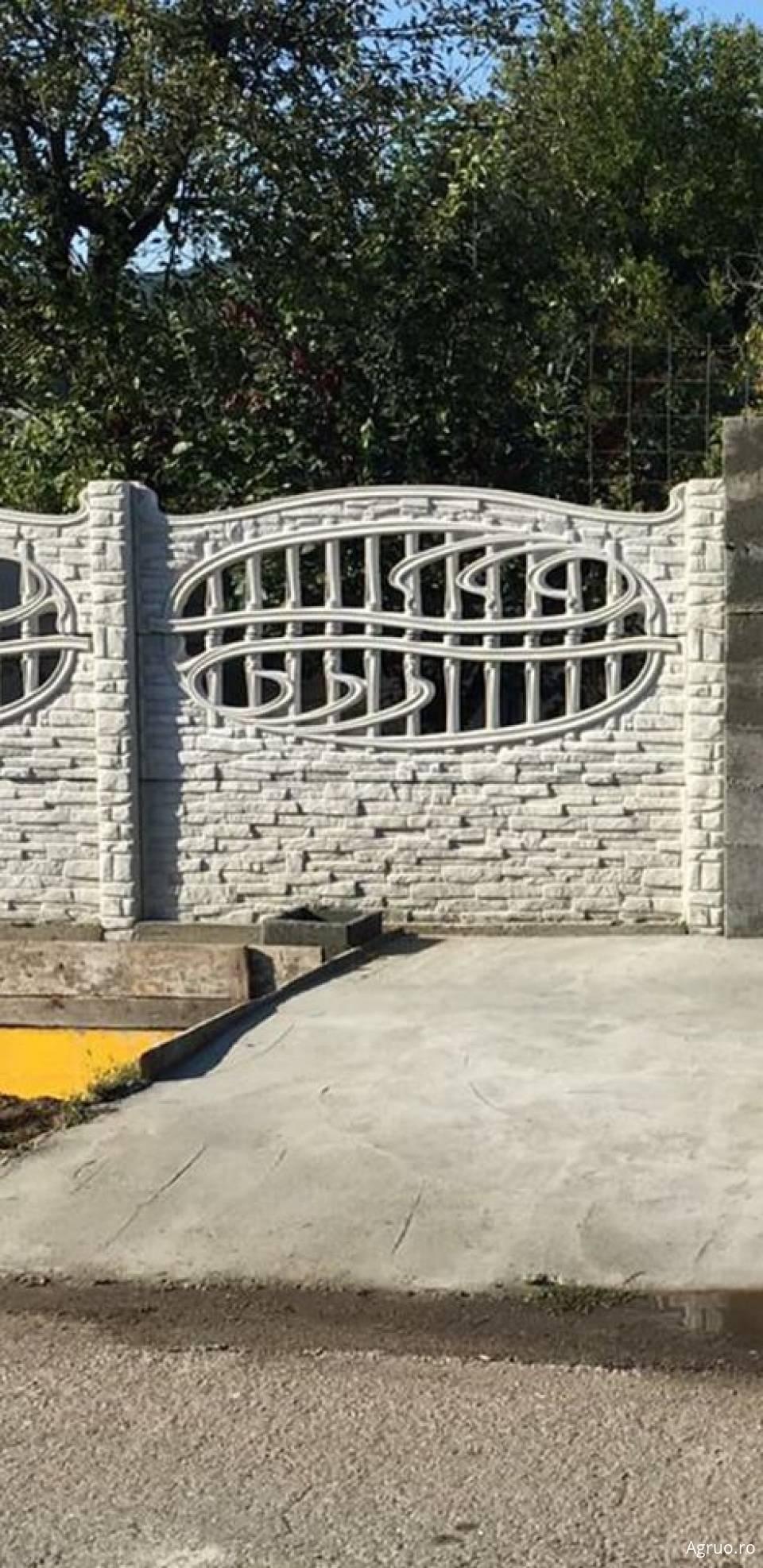 Placa de gard din beton1914