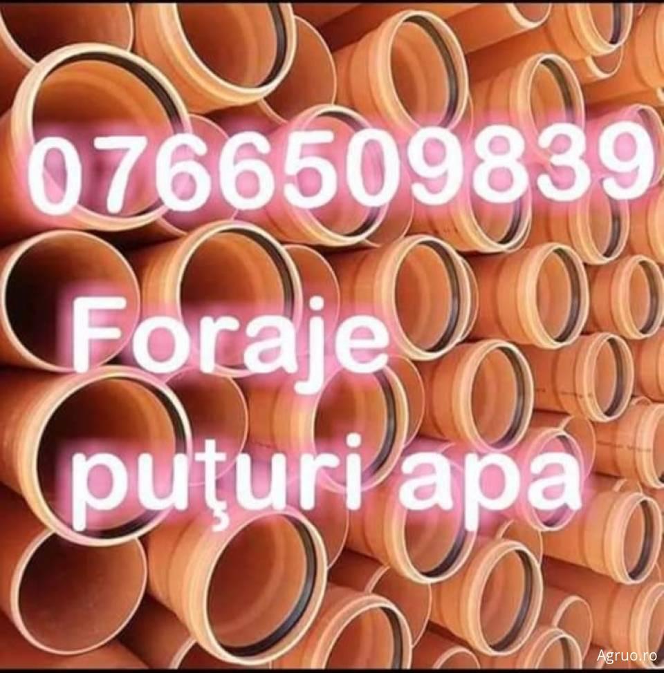 Foraje pentru puturi de apa2340