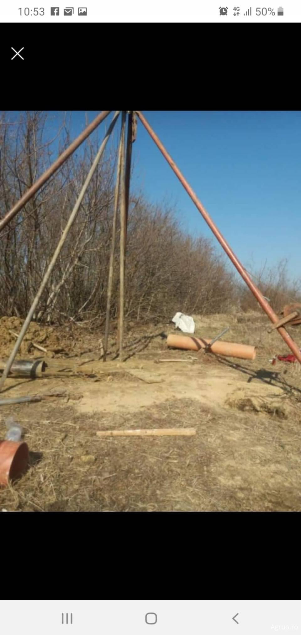 Foraje pentru puturi de apa2339