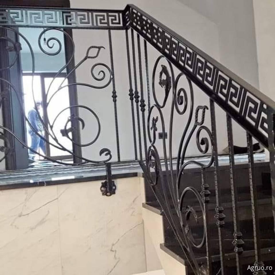Balustrada din fier forjat2379