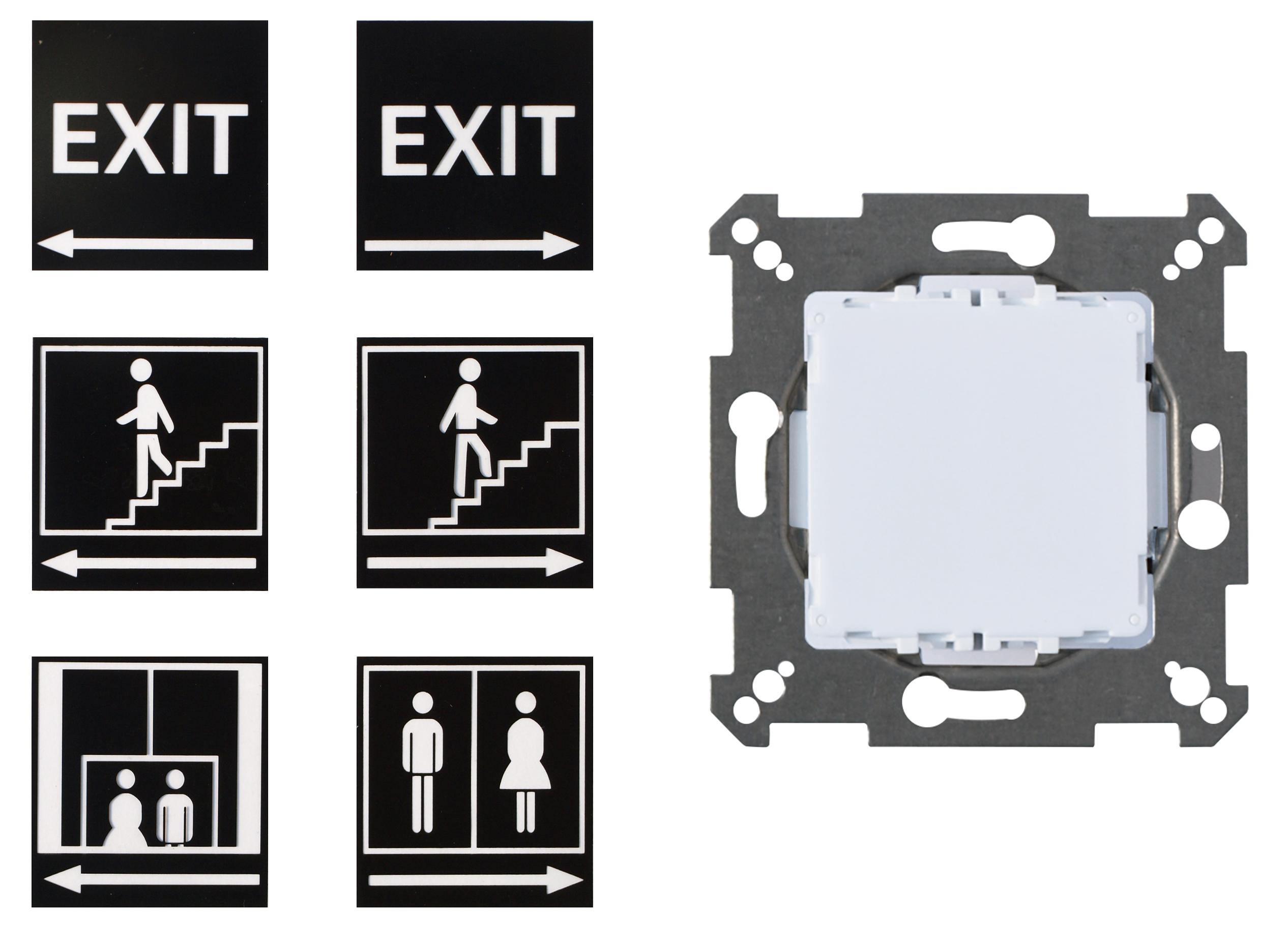 Aparataj terminal Elso - inserturi electronice cu montaj incastrat12344
