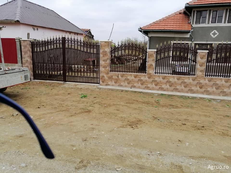 Gard din fier forjat2678