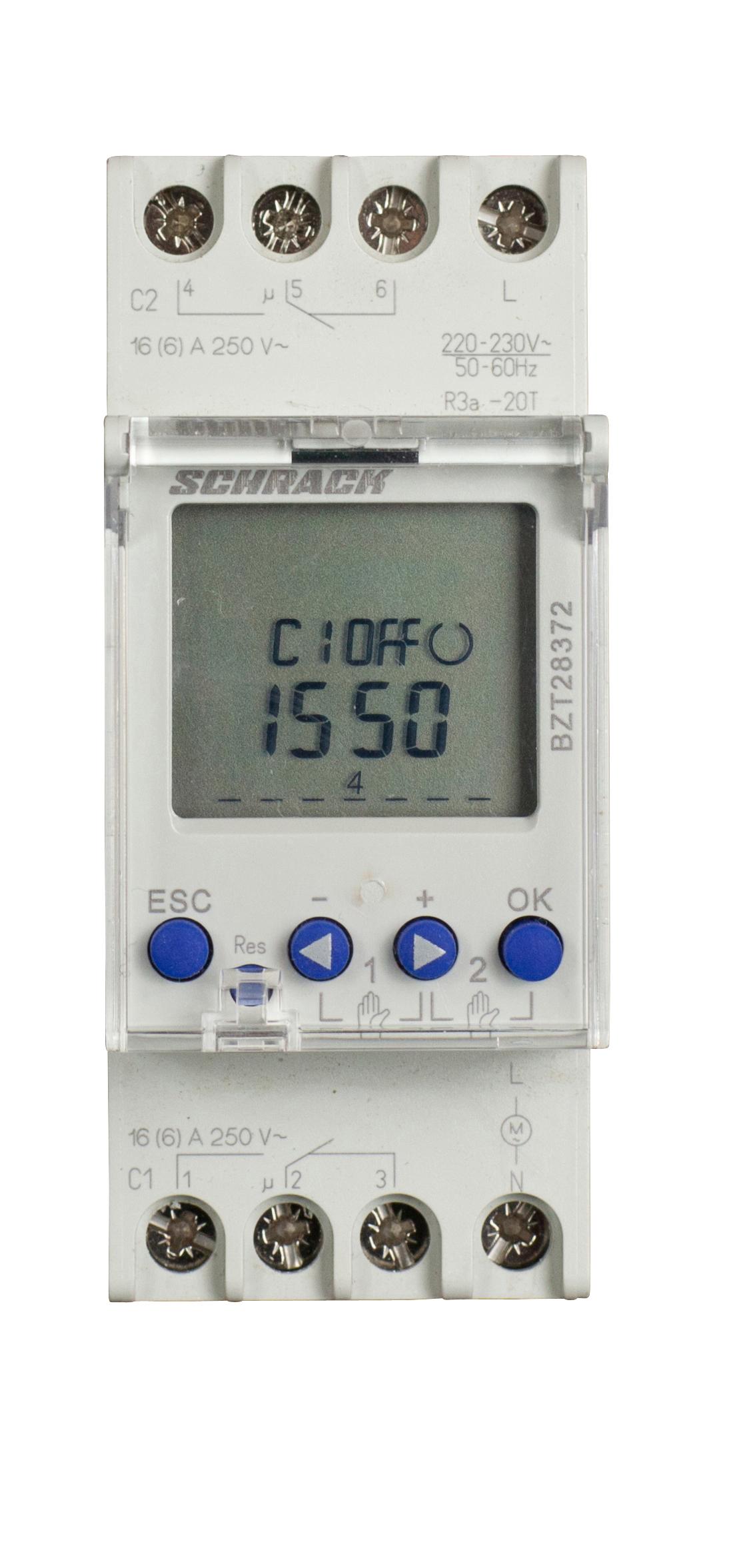 Ceasuri programabile, comutatoare crepusculare13743